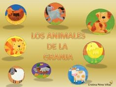 Cuento. Los animales de la granja Pre K Lesson Plans, Spanish Class, Yoshi, Art, Education, Children's Literature, Animals, Flower, Paper