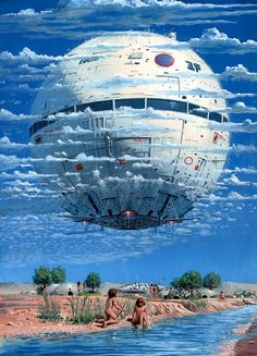 ♂ Dream Imagination Surrealism Science Fiction The Art Of Animation, Peter Elson