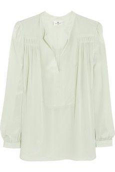 DAY Birger et Mikkelsen Silk-crepe blouse | NET-A-PORTER