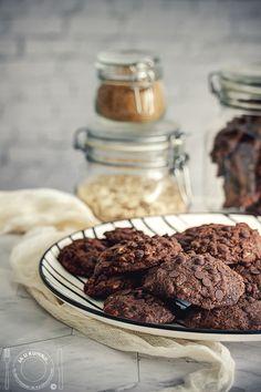 Oatmeal Chocolate Chip Cookie Recipe, Oatmeal Chocolate Chip Cookies, Cake Chocolate, Cookie Recipes, Almond, Chips, Food, Chicolate Cake, Recipes For Biscuits