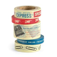 Vintage Office Tape Set