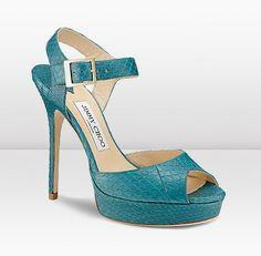sandalias turquesas jimmy choo #sandals #jimmychoo