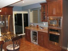 Beautiful kitchen crafted by T & E Construction, Inc.