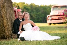 We provide lots of free props for weddings at our barn farm venue in central Virginia.  1956 F100 pickup, fully restored 1951 Ford pick up, tractors, wagon and more! Photographybynicolejohnson.com
