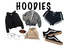 """H"" by lxxvii on Polyvore featuring ファッション, Acne Studios, Chanel, Ray-Ban と Hoodies"