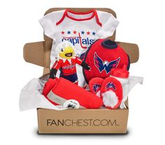 Washington Capitals Baby FANCHEST - Boy - 3 Months 4939f375e