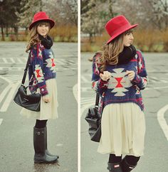 New hat!  (by Maddy C) http://lookbook.nu/look/4454223-New-hat