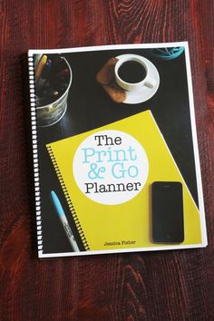 The Print & Go Planner | Life as MOM
