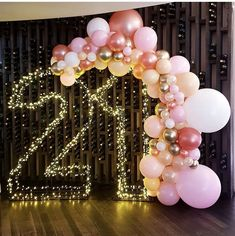 Image about photo in Balloons by * 🎀 𝒵𝒾𝑔 𝒵𝒶𝑔 𝒵𝒾𝓅𝓅𝓎 𝟣𝟪𝟪𝟦 🎀 * Birthday Goals, 21st Birthday Gifts, Diy Birthday, 21 Birthday Parties, 18th Birthday Party Ideas For Girls, 30th Birthday Themes, Happy Birthday, Birthday Venues, 21st Bday Ideas