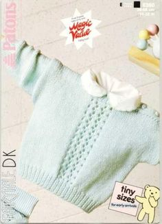 Patons 8360 Sweater
