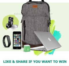 11 Free Backpacks Filled With iPads, FitBits And More – Enter Contest 1st PRIZE One (1) Tracker backpack filled with an Apple MacBook Pro, a Fitbit,…