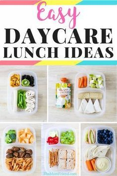 Check out these easy toddler lunch ideas for daycare, preschool or at home! They are healthy too! mealplanning toddlerfood toddlerlunch lunchideas daycare sponsored by 85568461655301906 Easy Toddler Lunches, Healthy Toddler Meals, Healthy Kids, Toddler Food, Healthy Lunches, Toddler Dinners, Healthy Lunch For Toddlers, Toddler Lunchbox Ideas, Toddler Daycare