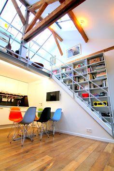 Paris Marais Getaway: Architect's duplex loft in the heart of the Marais | HomeAway