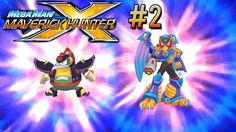 Mega Man Maverick Hunter X #2 [PSP] - Storm Eagle & Chill Penguin - Let's Play Maverick Hunter X