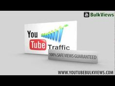 Buy Youtube views - $0.90 per 1000 views - No Bot views No Mobile views - Get 100% Safe and Organic Youtube views from Facebook and Twitter http://www.youtubebulkviews.com