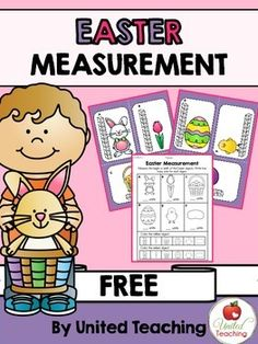 Easter Measurement Math Center (free; from United Teaching on TpT)