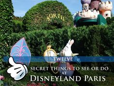 What we love about Disneyland Paris is the attention to detail. Here are 12 hidden secrets that you should look out for during your next visit to Disneyland Paris. Secret 1 There is a mirror outside Dapper Dan's Hair Cuts. If you stand in front of it and look at it, it will look like…