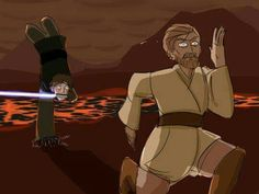 Artist: Rogers Frandora ~Well, Anakin happened to have the high ground now