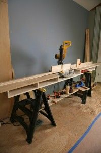 Make a Miter Saw Work Station: Part 1 | THISisCarpentry