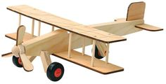 Red Tool Box DIY Wood Airplane Building Kit.Work and play are intertwined with building activities that are challenging, educational, and fun with this Red Tool Box airplane building kit! Learn the useful skills of assembly, gluing, hammering, filing, bolting, painting and decorating together when building this project. https://api.shopstyle.com/action/apiVisitRetailer?id=491516435&pid=uid8100-34415590-43