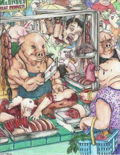 in a parallel universe go #vegan