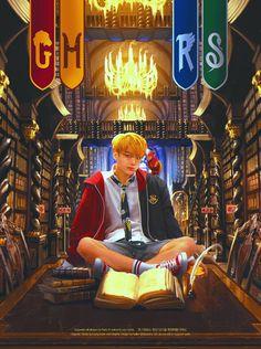 My Harry Potter❤🐰 Kookie-ah❤🌍👑 Jungkook Fanart, Kookie Bts, Kpop Fanart, Bts Bangtan Boy, Jung Kook, Hogwarts, K Pop, Vkook, Bts Drawings