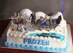 Disney Frozen Cake - gâteau la reine des neiges