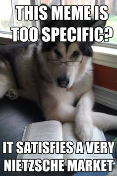 The Best Of Condescending Literary Pun Dog