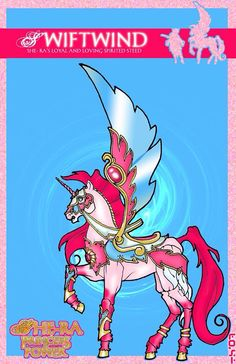 Swiftwind, She-Ra's very pretty pony She Ra Princess Of Power, Golden Girls, Cool Cartoons, Girls Dream, Fantasy Creatures, Childhood Memories, Pony, Nostalgia, Nerd