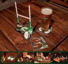 Heineken Pub Rugby Activation