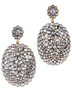 Moonstone earrings by Holts of London