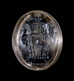 Unknown, Engraved Gem, Late Antique, 5th - 7th century, Smoky Quartz, Object: H: 1.3 x W: 1.08 x D: .53 cm - See more at: http://search.getty.edu/gateway/search?q=&cat=type&types=%22Jewelry%22&rows=50&srt=&dsp=0&img=0&dir=s&pg=1#sthash.oRsYYNeN.dpuf