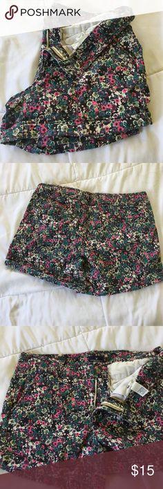 American Eagle Midi Shorts Cute floral print Midi Shorts American Eagle Outfitters Shorts