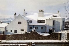 Windyhill at Kilmacolm, Renfrewshire, Scotland, is a little-known example of architectural design by Charles Rennie Mackintosh. Offers in excess of £3Million were invited in 2014 for the 1900-designed private residence. The property is Listed Grade A.