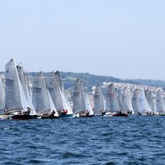 One the best dinghy classes to sail in the UK - the Merlin Rocket