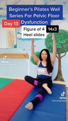 Pilates Workout Routine, Pop Pilates, Flexibility Workout, Strength Workout, Mini Workouts, Floor Workouts, Yoga Routine For Beginners, Pelvic Floor, 31 Days
