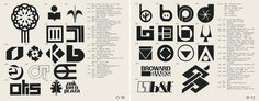 Some very nice logos using the letter O and the letter B. #retro #logo #design