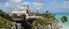 tulum ruinas maya, Sitio Arqueológico de Tulum, Tulum Riviera Maya