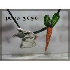 λαγός  καρότο , ασημένιο μενταγιόν Carrots, Pendants, Hang Tags, Carrot, Pendant, Charms