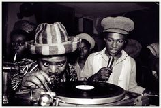 Social Music/UGC: Jamaican sound sytems play(ed) rhythms for DJ's to step to the mic and toast over