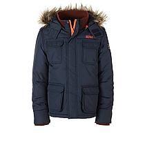 Retour jas Donkerblauw