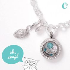 Give Away football Dangle! football sparkle shinny win prize giveaway origami owl