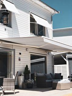 Patio Design, Exterior Design, Diy Bedroom Decor, Diy Home Decor, Rustic House Plans, Beach Cottage Style, Dream House Exterior, Home Trends, House Goals