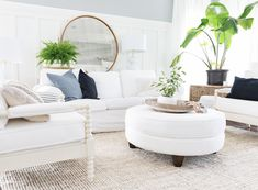 Summer Home Tour 2018 Condo Living, Living Room, Wake Me Up, House Tours, Summer, Furniture, House Plants, Home Decor, Walls