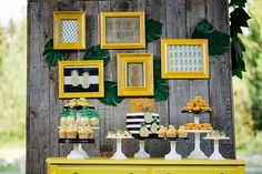 A pineapple-themed birthday party | Jenny Cookies