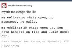 """I lost it at Jumin Han comes out! I just see him saying """"I'm gay!"""""""
