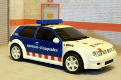 Ninco 50320. Volkswagen Golf. Mossos d'esquadra. #slotcar