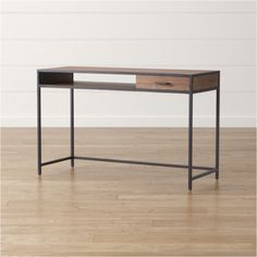 Add style and functionality to your home office with a desk from Crate and Barrel. Browse a variety of styles including computer desks, work tables and more.