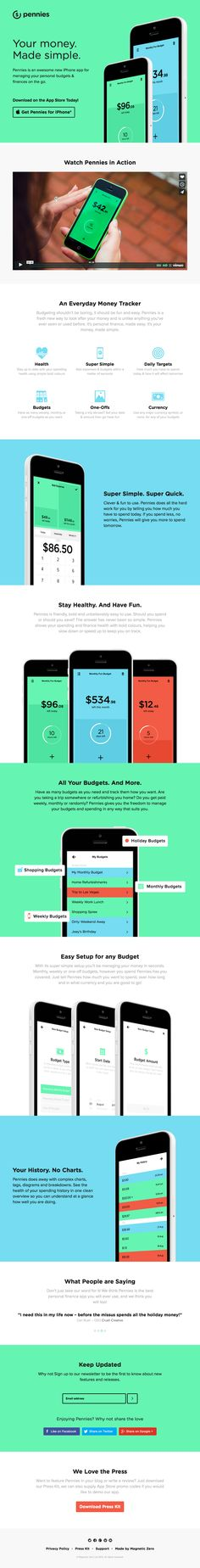 Pennies for iPhone