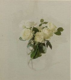 Avila Roses V by Antonio Lopez Garcia Oil Painting Flowers, Painting & Drawing, Floral Paintings, High Art, Contemporary Paintings, Trees To Plant, Artsy Fartsy, Still Life, Colours